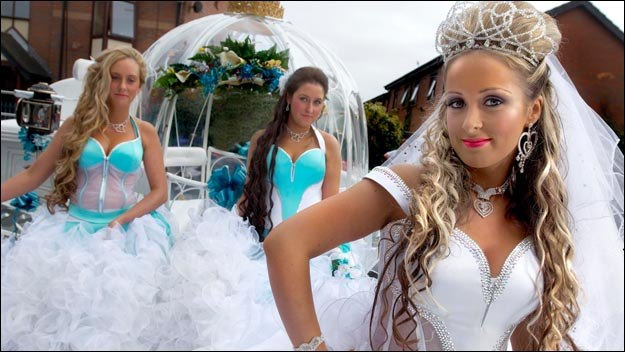 Publicity photo for My Big Fat Gypsy Wedding from Channel 4