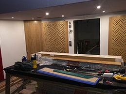 New studio under construction (Dec