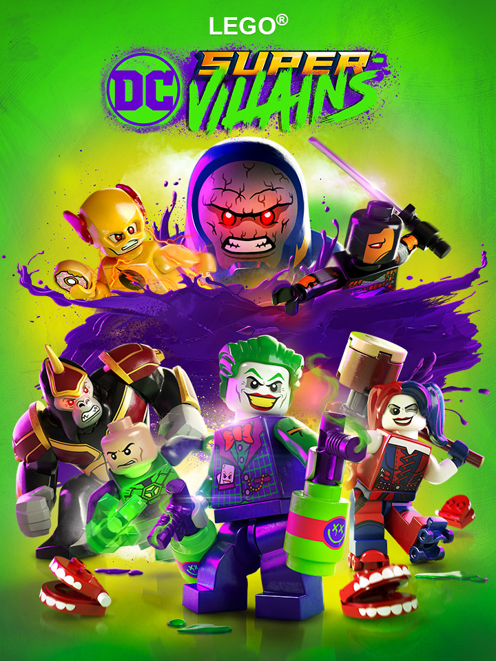 Lego DC Super Villains is released!